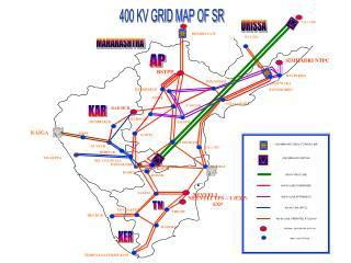 400 KV GRID MAP OF SR