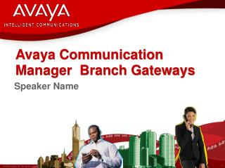 Avaya Communication Manager  Branch Gateways