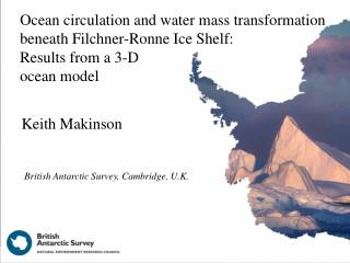 Ocean circulation and water mass transformation beneath Filchner-Ronne Ice Shelf: