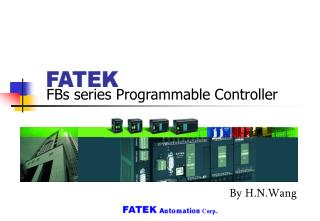FBs series Programmable Controller