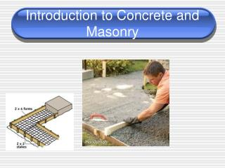 Introduction to Concrete and Masonry