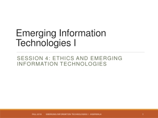 Chap. 7 Ethical Issues Regarding Emerging Technologies
