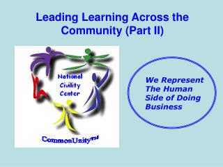 Leading Learning Across the Community Part II