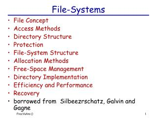 File-Systems