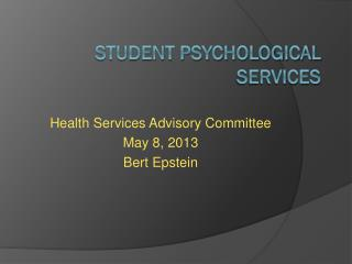Student Psychological Services
