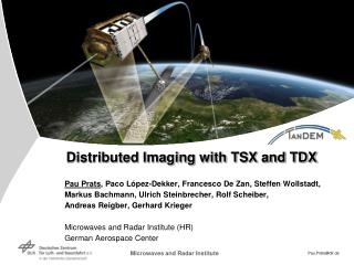 Distributed Imaging with TSX and TDX