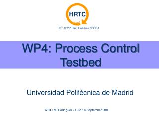WP4: Process Control Testbed