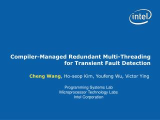 Compiler-Managed Redundant Multi-Threading for Transient Fault Detection