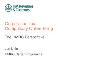 Corporation Tax Compulsory Online Filing