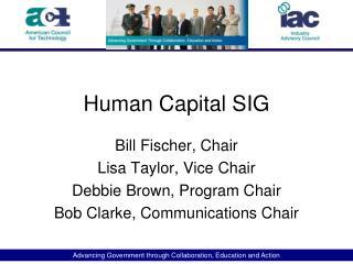 Human Capital SIG