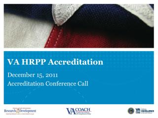 VA HRPP Accreditation