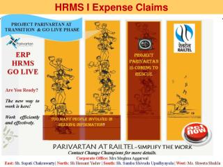HRMS I Expense  Claims