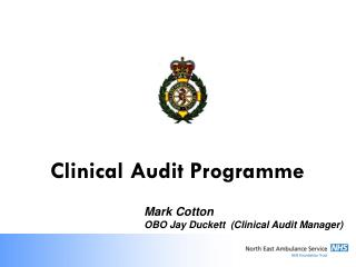 Clinical Audit Programme