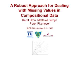 A  Robust  Approach for Dealing with Missing Values in Compositional Data