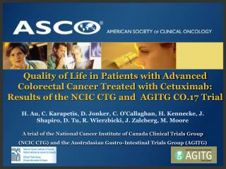 A trial of the National Cancer Institute of Canada Clinical Trials Group