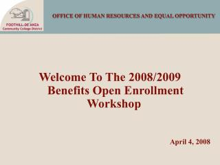 OFFICE OF HUMAN RESOURCES AND EQUAL OPPORTUNITY