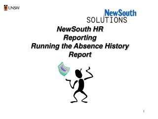 NewSouth HR Reporting Running the Absence History Report