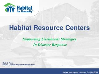 Habitat Resource Centers