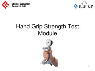Hand Grip Strength Test Module