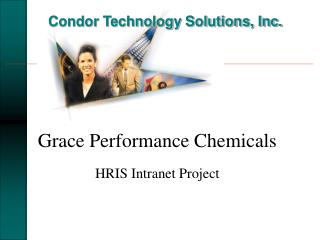 Grace Performance Chemicals