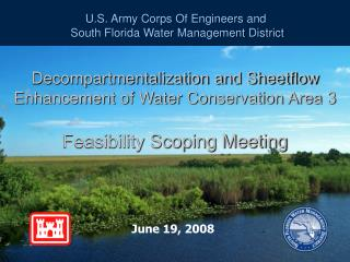 U.S. Army Corps Of Engineers and  South Florida Water Management District