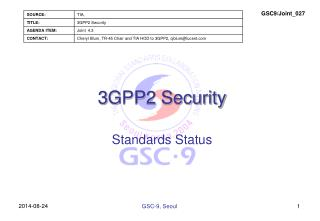 3 GPP2 Security