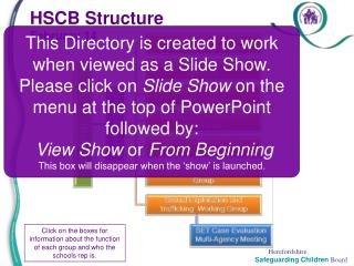 HSCB Structure February 14