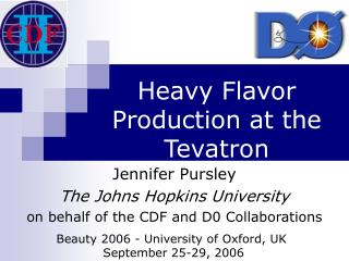 Heavy Flavor Production at the Tevatron