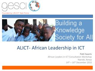 ALICT- African Leadership in ICT