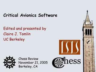 Critical Avionics Software