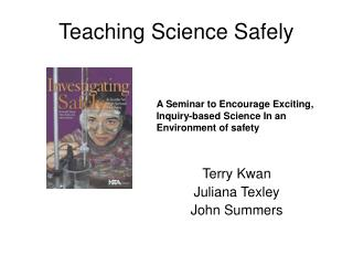Teaching Science Safely