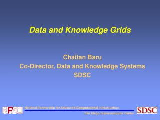 Data and Knowledge Grids