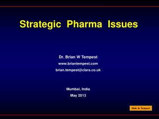 Strategic  Pharma  Issues
