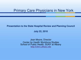 Primary Care Physicians in New York