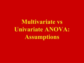 Multivariate 2 Level Generalised Linear Models