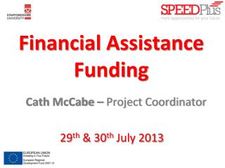 Financial Assistance Funding