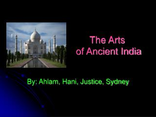The Arts  of Ancient India