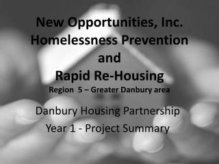 Danbury  Housing Partnership Year 1 - Project Summary