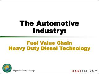 The Automotive Industry: