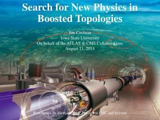 Search for New Physics in Boosted Topologies