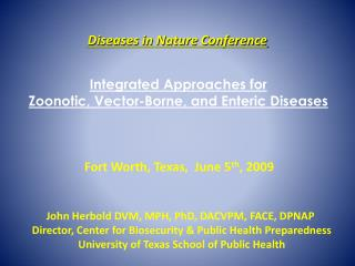 Diseases in Nature Conference