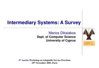 Intermediary Systems: A Survey