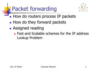 Packet forwarding