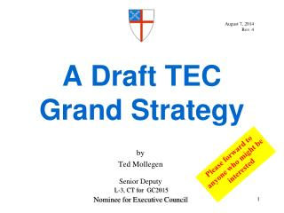 A Draft TEC  Grand Strategy