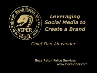 Leveraging Social Media to Create a Brand