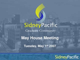May House Meeting