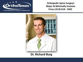 Orthopedic Surgeon In Frisco