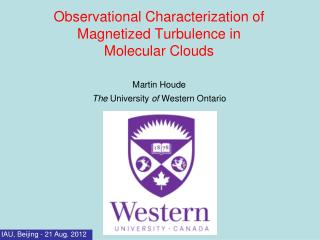Observational Characterization of Magnetized Turbulence in Molecular Clouds