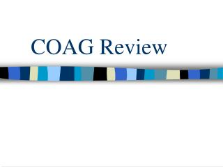 COAG Review