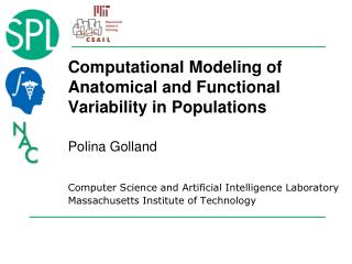 Computational Modeling of Anatomical and Functional Variability in Populations